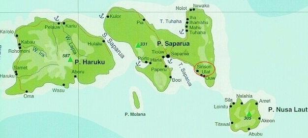 Itawaka Saparua Maluku Tengah Wikipedia Bahasa Indonesia Ensiklopedia Bebas Pantai