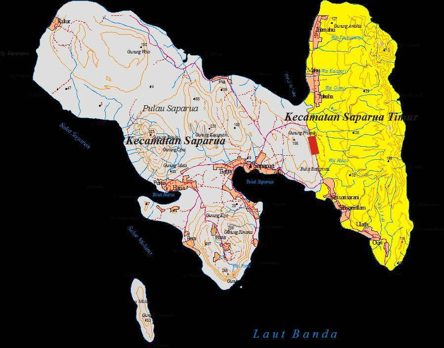 Pemerintahan Negeri Rencana Pemekaran Kecamatan Saparua Timur Pantai Itawaka Kab
