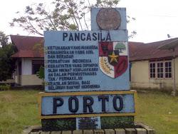 Porto Saparua Maluku Tengah Wikipedia Bahasa Indonesia Batu Relief Negeri