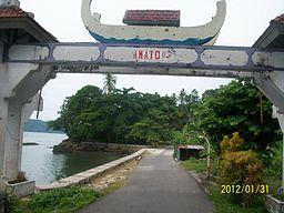 Ullath Saparua Maluku Tengah Stt Batas Wilayah Pantai Itawaka Kab
