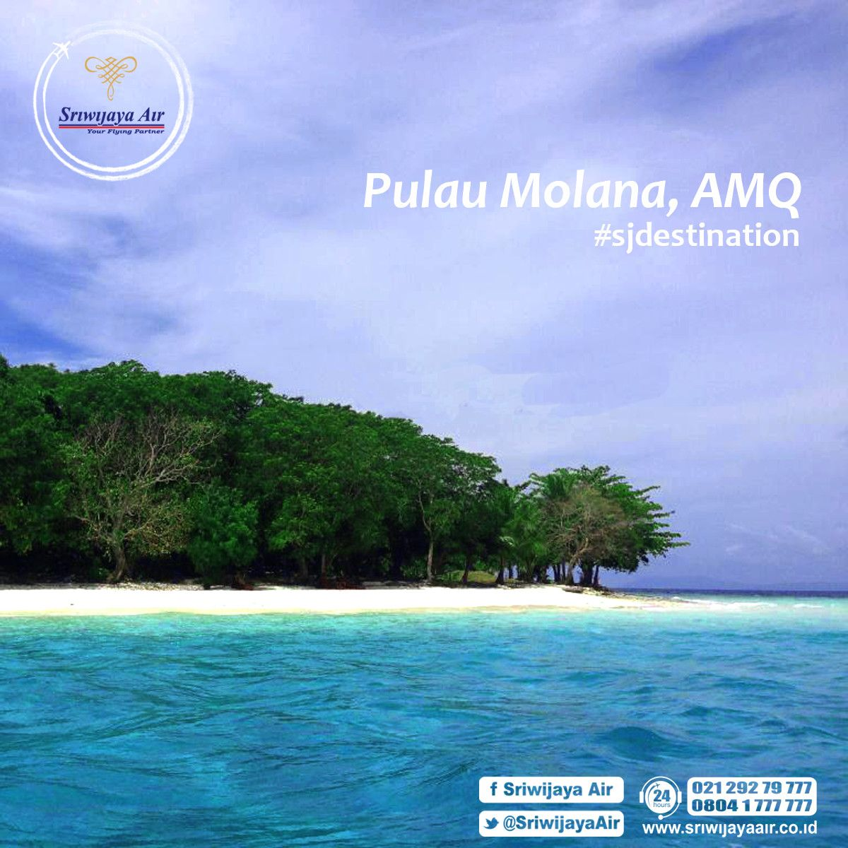 Foto Pulau Molana Lokasi Kecil Berada Desa Haria Saparua Kab
