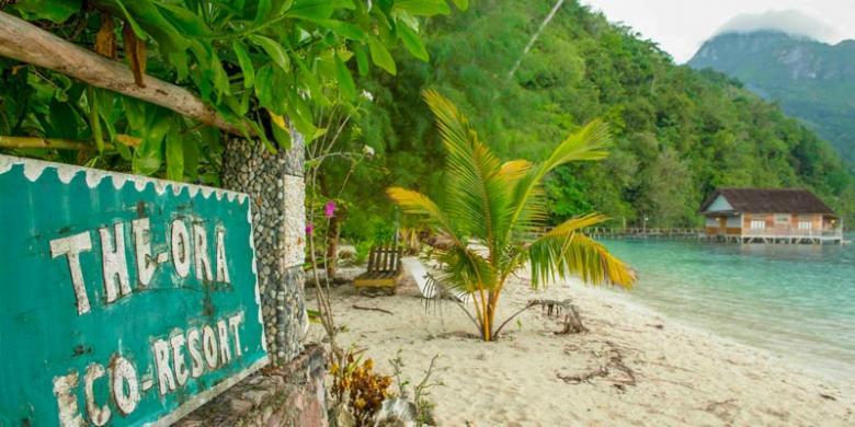 Kilau Pantai Ora Menggoda Wisatawan Dunia Kompas Desa Saleman Kabupaten