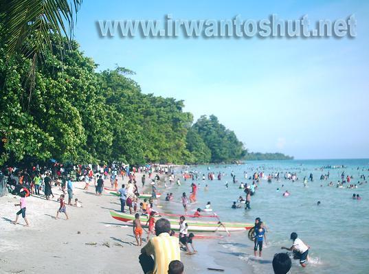 Kota Ambon Manise Wisata Pantai Natsepa Pulau Walaupun Terletak Tetapi