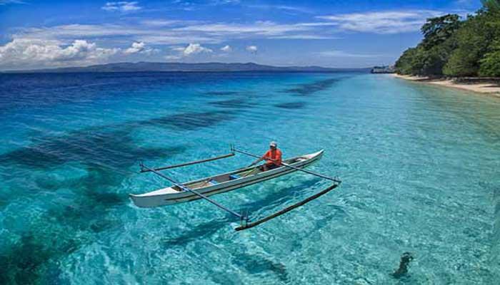 Nikmati Keindahan Pantai Liang Maluku Tengah Reygian Wisata Sirsaoni Kab