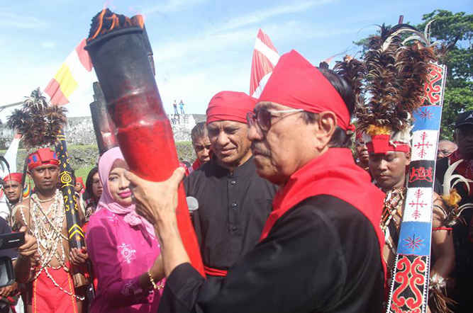 Perjuangan Pattimura Menginspirasi Lawan Ketidakadilan Tribun Pelaksana Tugas Plt Gubernur