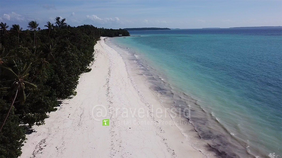 Stock Photo Video Pantai Ngurbloat Kei Kecil Maluku Tenggara Beach
