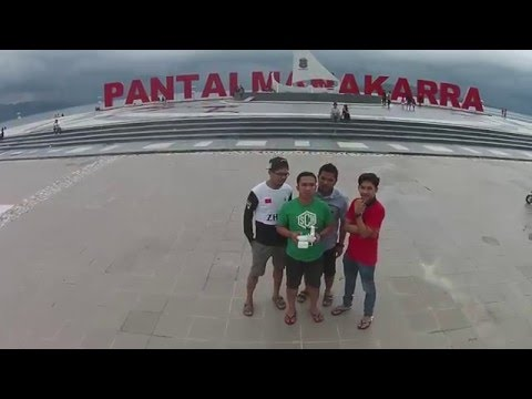 Anjungan Pantai Manakarra Pulau Karampuang Mamuju Youtube Kab