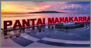 Daftar Tempat Wisata Sulawesi Barat Kunjungi Pantai Manakarra Kab Mamuju