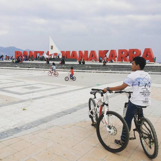 Menikmati Panorama Pantai Manakarra Mamuju Objek Wisata Hai Indonesian Kab