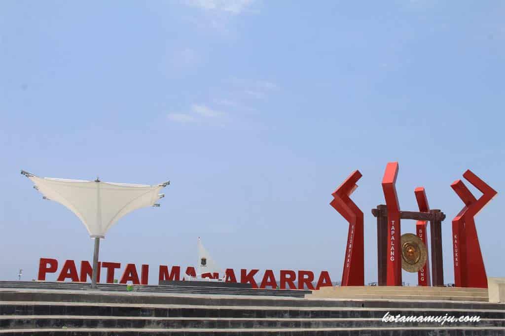 Panorama Pantai Manakarra Makasar Wisatago Solution Kab Mamuju