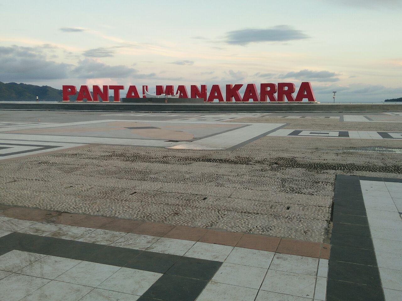 Pantai Manakarra Tempat Kebanggaan Masyarakat Mamuju Ditpolair Menjadi Bermain Beraktivitas