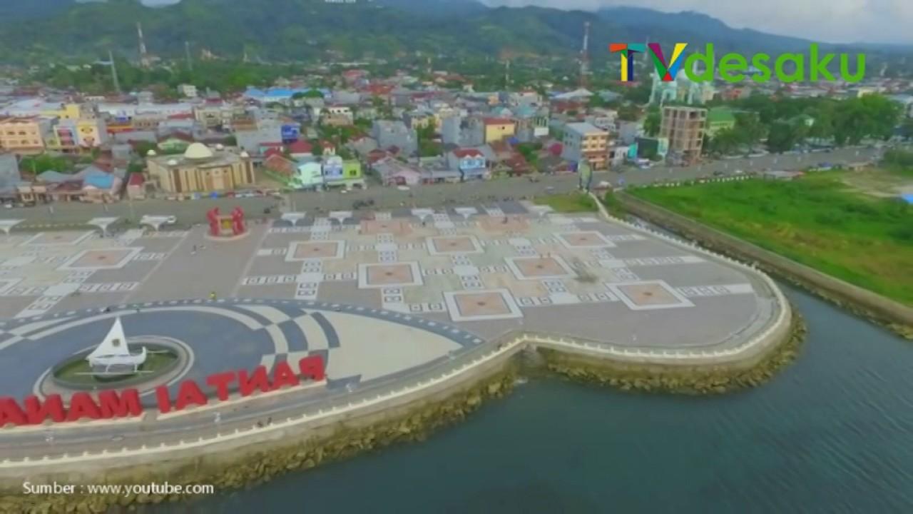 Pesona Pantai Manakarra Mamuju Provinsi Sulawesi Barat Youtube Kab