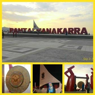 Sulbarkita Culture Nature Sulawesi Barat Berita Ayo Anjungan Pantai Manakarra
