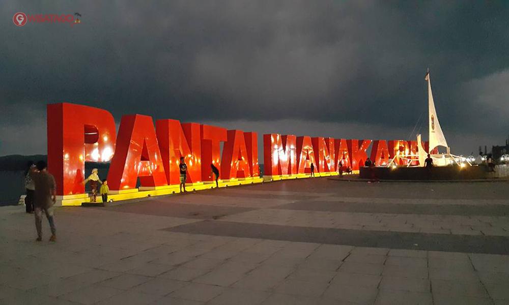 Wisata Pantai Manakarra Mamuju Pemandangan Eksotik Manakara Kab