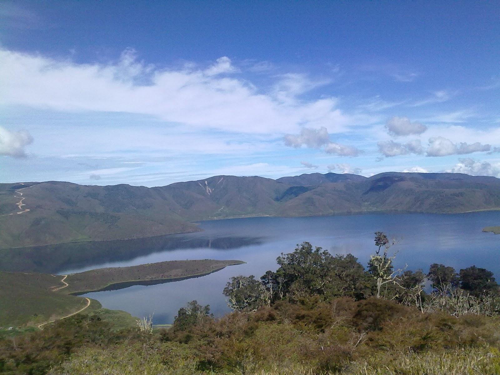 Blak Jopie Saiba Danau Anggi Giji Terletak Distrik Sururey Kabupaten