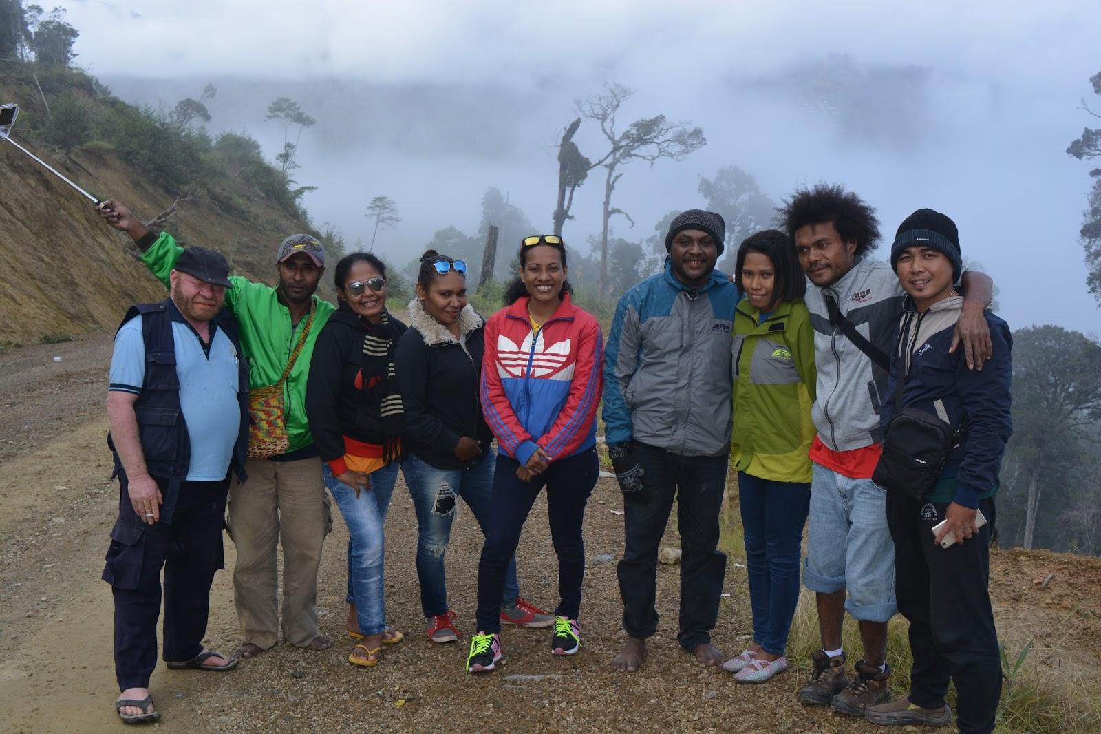 Daniel Naury Pesona Keindahan Alam Pegunungan Arfak Papua Barat Danau