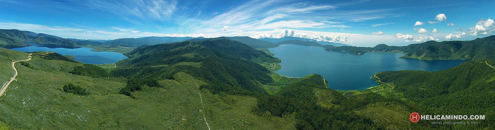 Misteri Danau Sepasang Kekasih Pegunungan Arfak Pace Bro Aerial Panoramic