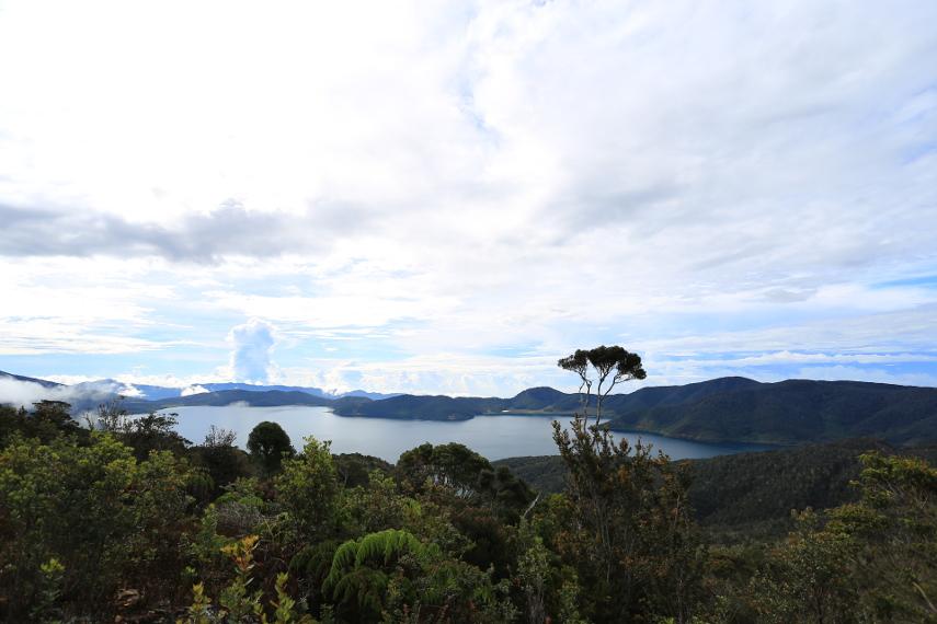 Misteri Sepasang Danau Indah Pegunungan Arfak Suasana Anggi Ginji Jantan