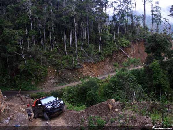 Tersihir Pesona Pegunungan Arfak Perjalanan Kendaraan 4wd Cukup Menantang Pemandangan