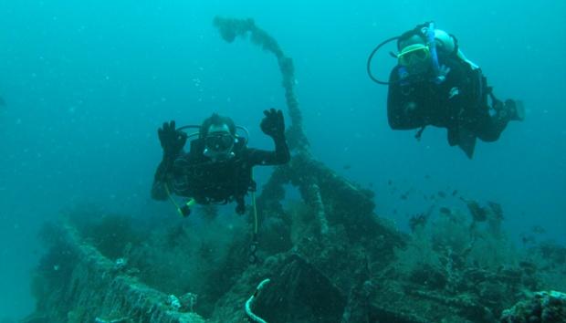 Asyiknya Menyelam Perairan Pulau Mansinam Travel Tempo Kabupaten Manokwari Ibu