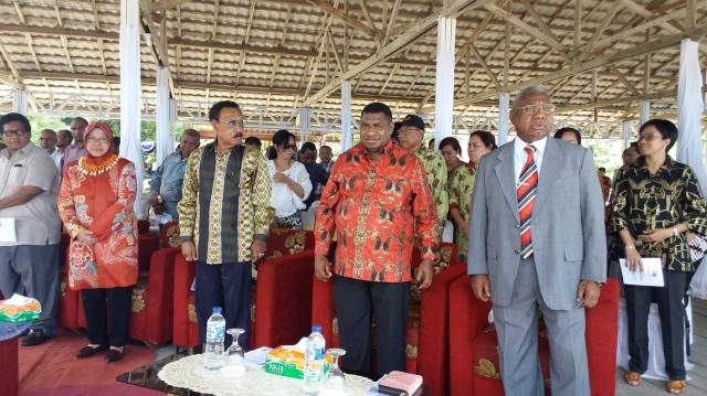 Hut Pi 162 Puluhan Ribu Padati Pulau Mansinam Media Papua