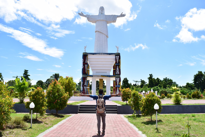 Kabupaten Manokwari Badan Penghubung Provinsi Papua Barat Tugu Yesus Mansinam