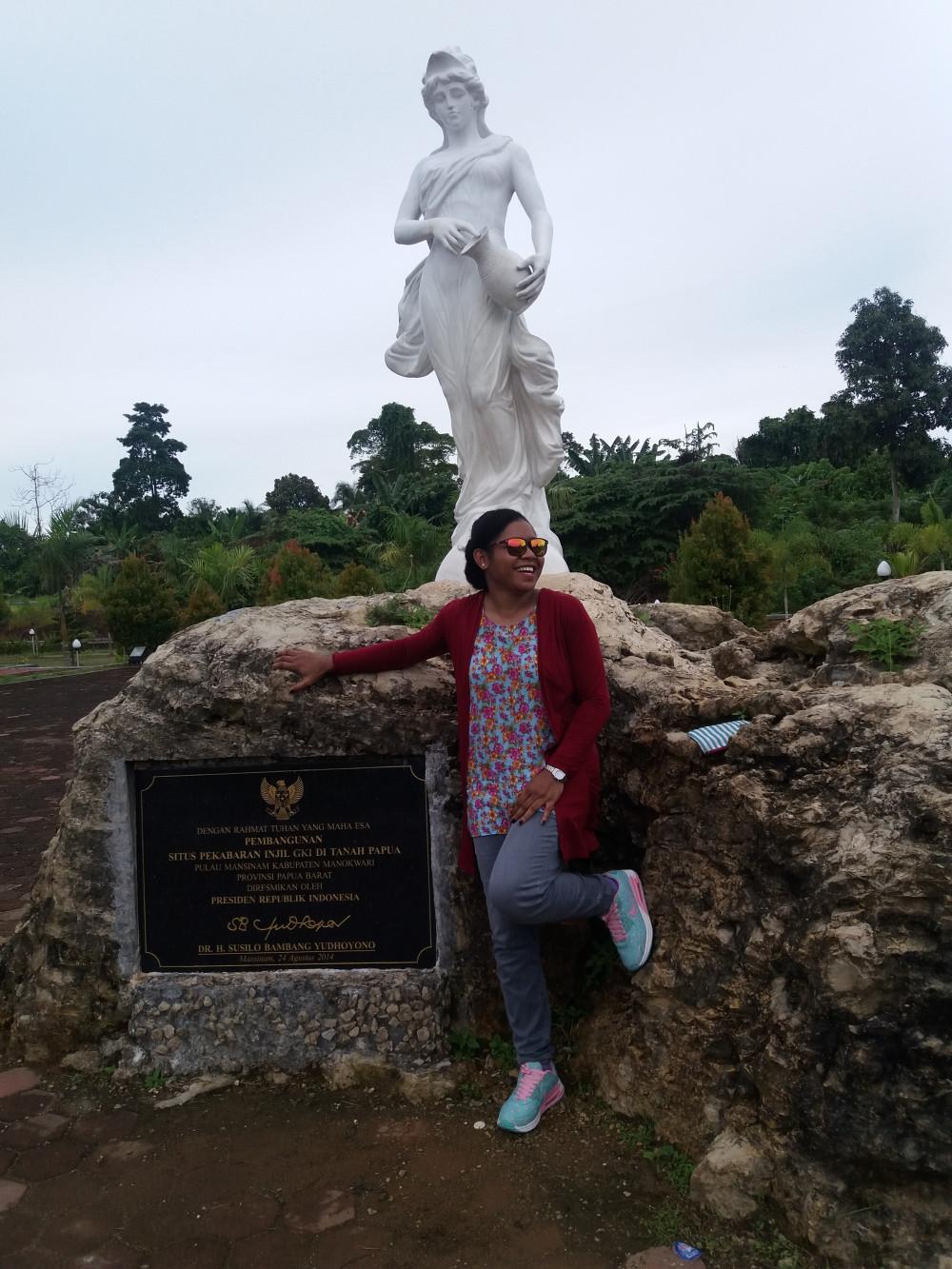 Keindahan Kota Injil Manokwari Marlinraunsai 20160702 143316 Pulau Mansinam Kab