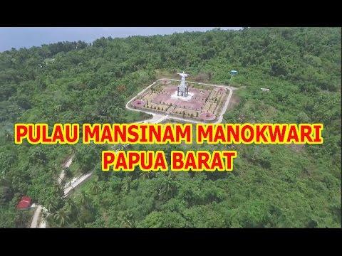 Pulau Mansinam Manokwari Youtube Kab
