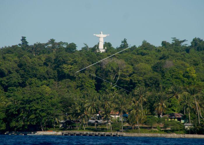 Sekilas Sejarah Peradaban Papua Pulau Mansinam Pace Bro Patung Yesus