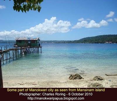Snorkeling Pulau Mansinam Diari Charles Roring Sebagian Pemandangan Kota Manokwari