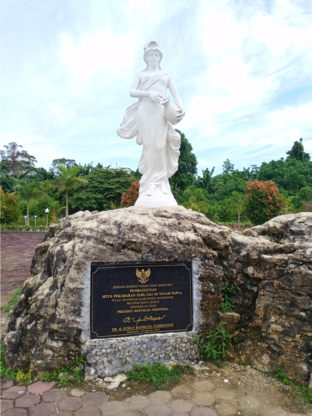 Techno Social Media Blog Ketika Manokwari Sebuah Setelah Pulau Mansinam