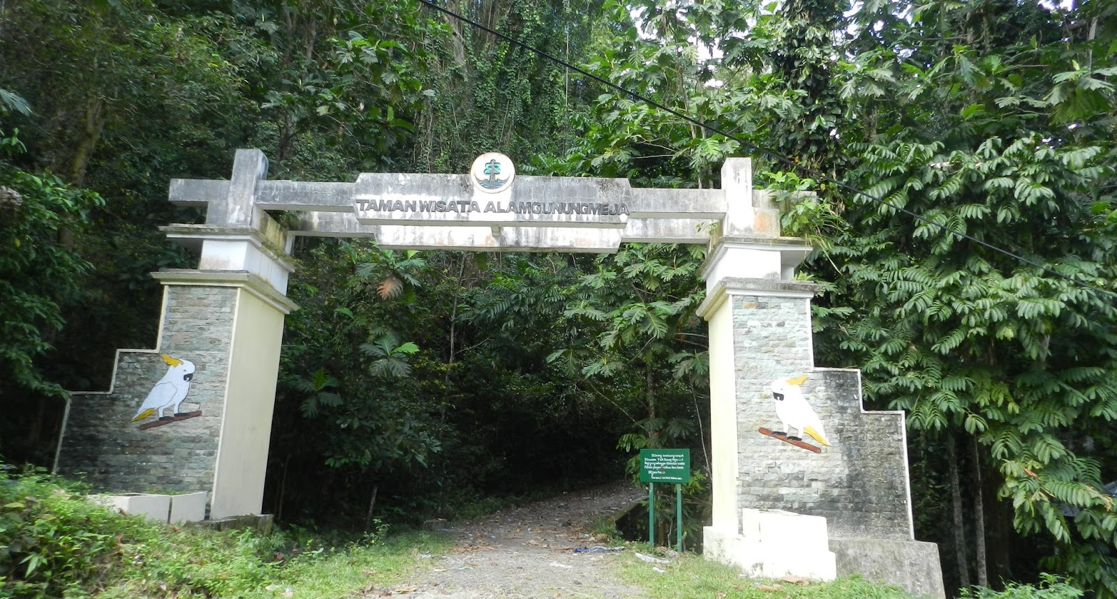 Gunung Meja Forgotten Forests Park City Manokwari Managed Facilities Broken