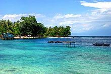 Kabupaten Manokwari Wikipedia Bahasa Indonesia Ensiklopedia Bebas Pantai Pasir Putih