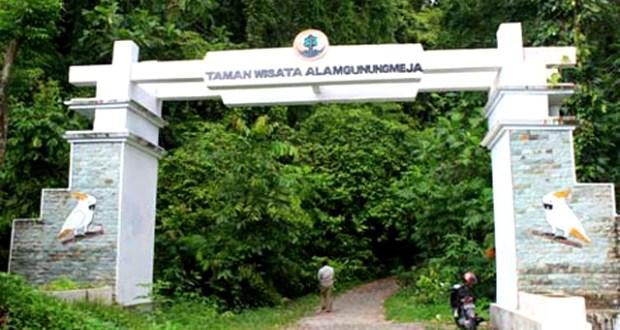 Kawasan Hutan Wisata Gunung Meja Jangan Dijadikan Tempat Sampah Taman