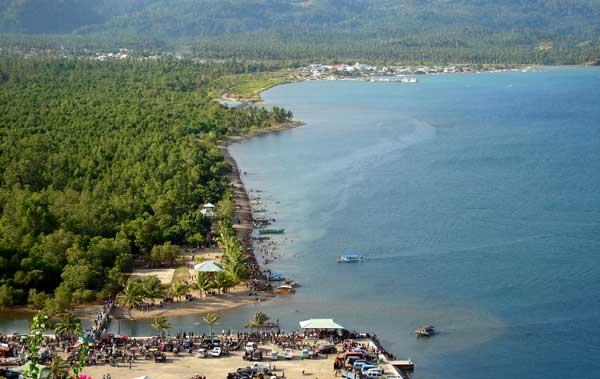 Benahi Objek Wisata Pantai Lakban Manadopostonline Dikembangkan Gerbang Lokasi Ratatotok