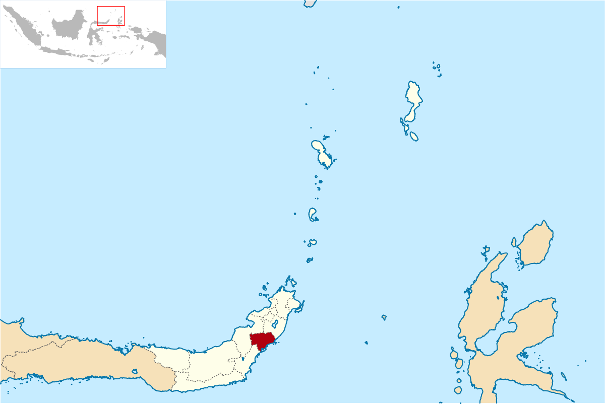Kabupaten Minahasa Tenggara Wikipedia Bahasa Indonesia Ensiklopedia Bebas Pantai Ratatotok