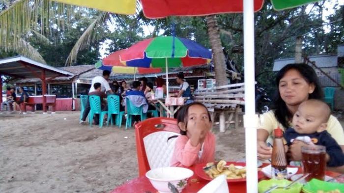 Liburan Akhir Pekan Yuk Pantai Lakban Minahasa Tenggara Tribun Ratatotok