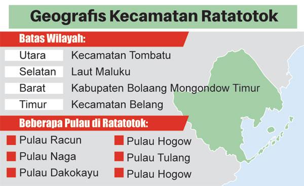 Pelototi Pelabuhan Tikus Ratatotok Manadopostonline Apalagi Dikenal Kecamatan Terbesar Kabupaten