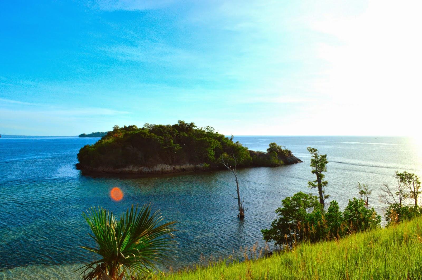 Pulau Dakokayu Seputaran Sulawesi Utara Minahasa Tenggara Pantai Ratatotok Kab