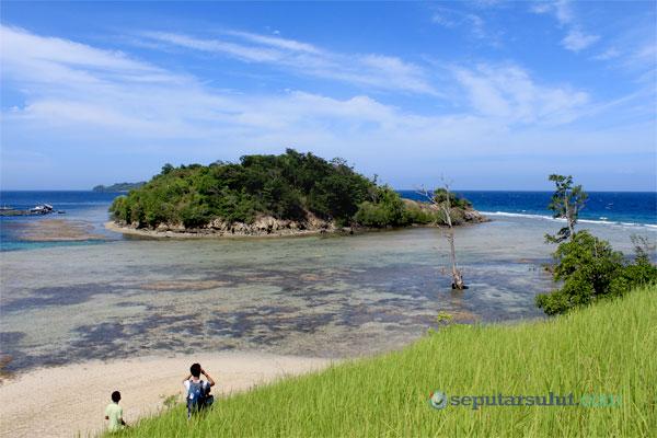 Ratatotok Surga Wisata Mengagumkan Minahasa Tenggara Pemandangan Atas Pulau Naga