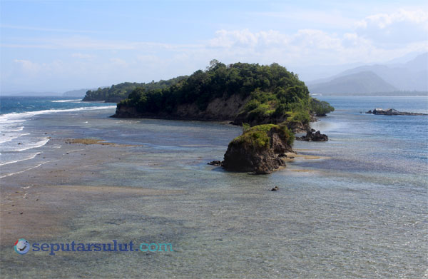 Ratatotok Surga Wisata Mengagumkan Minahasa Tenggara Pulau Naga Pemandangan Pantai
