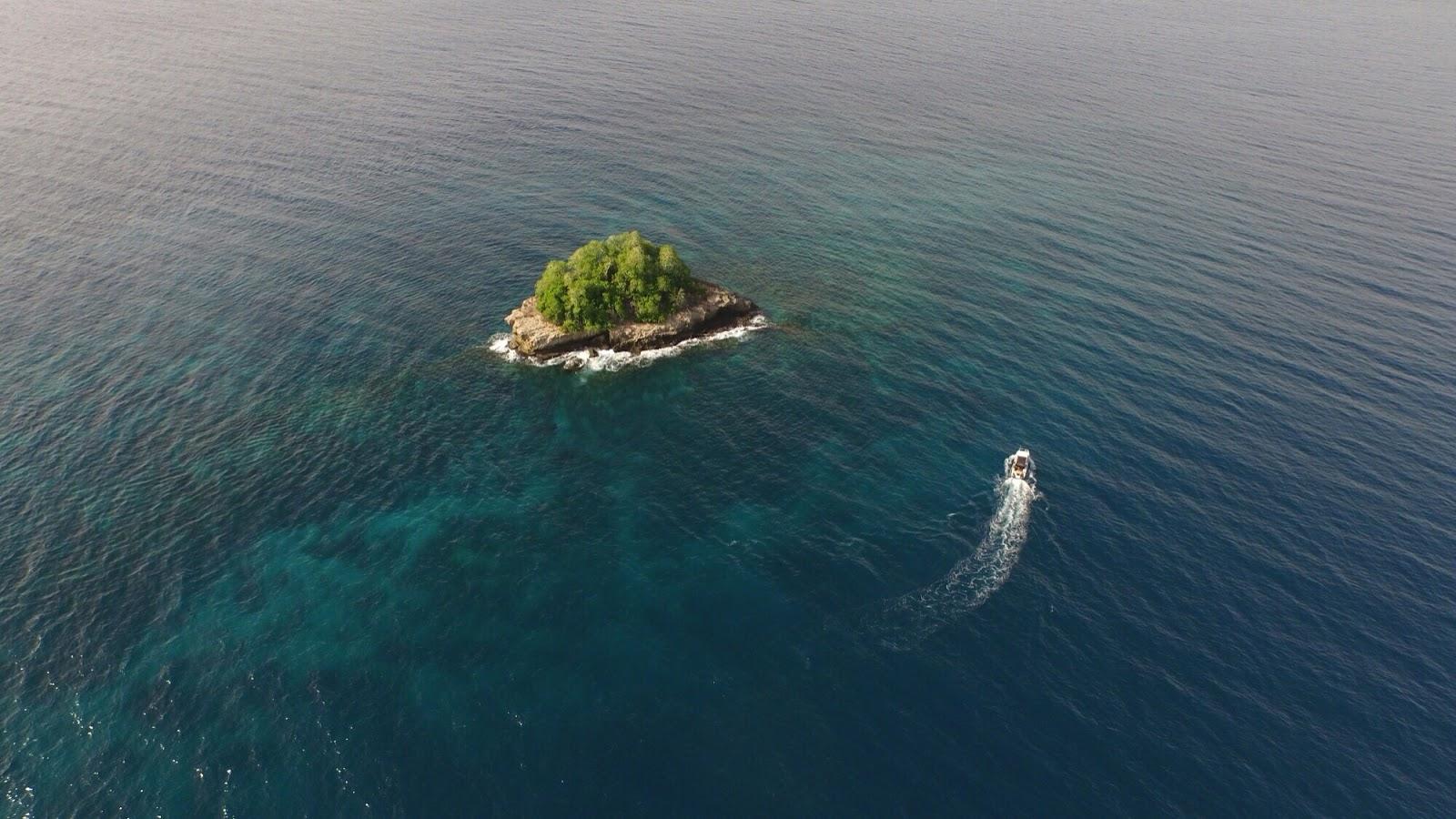 Weekdays Traveler Racun Minahasa Tenggara Pulau Difoto Udara Salah Satu