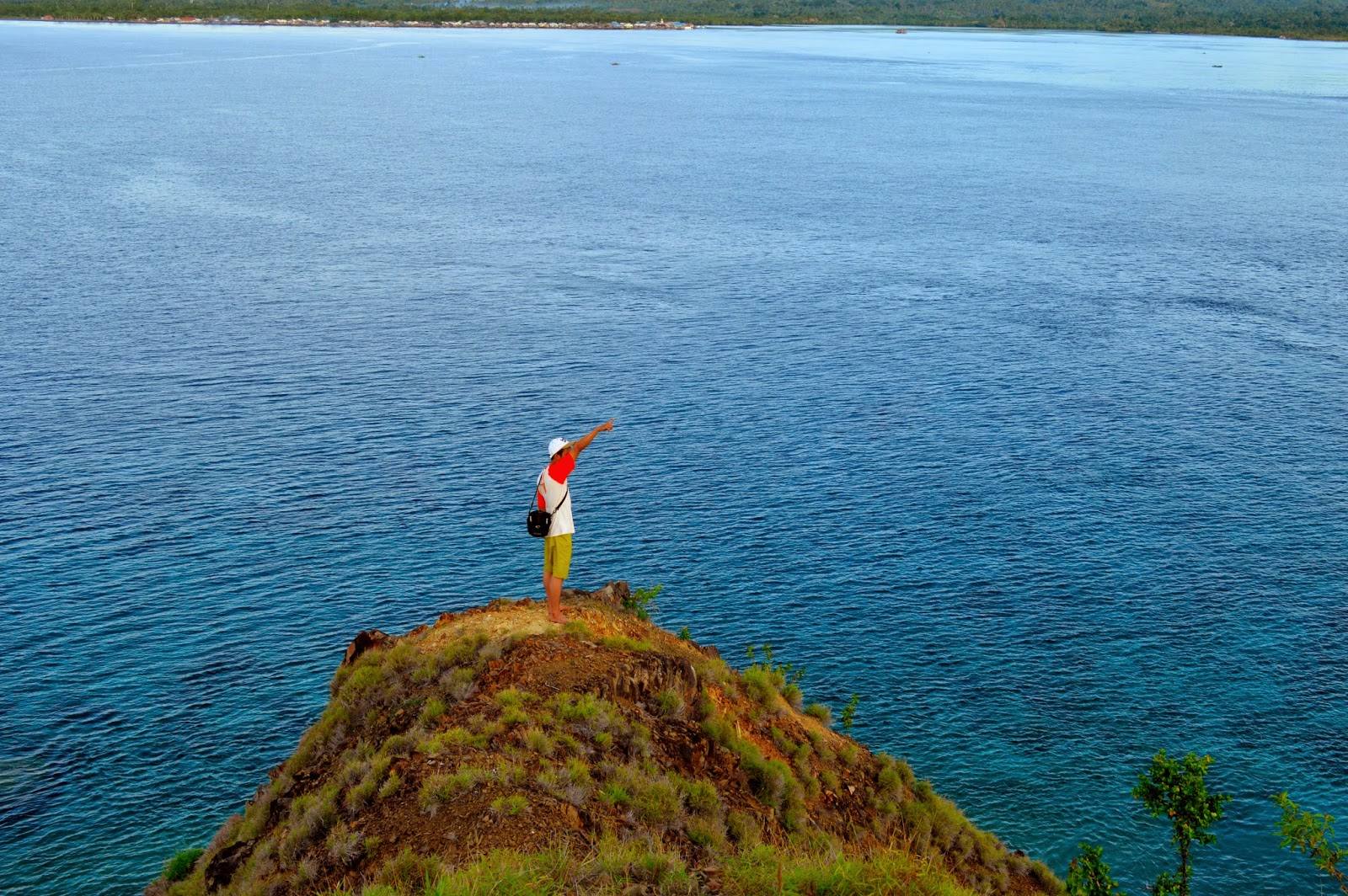 Indahnya Pulau Baling Poteng Qobul Taman Laut Tumbak Kab Minahasa