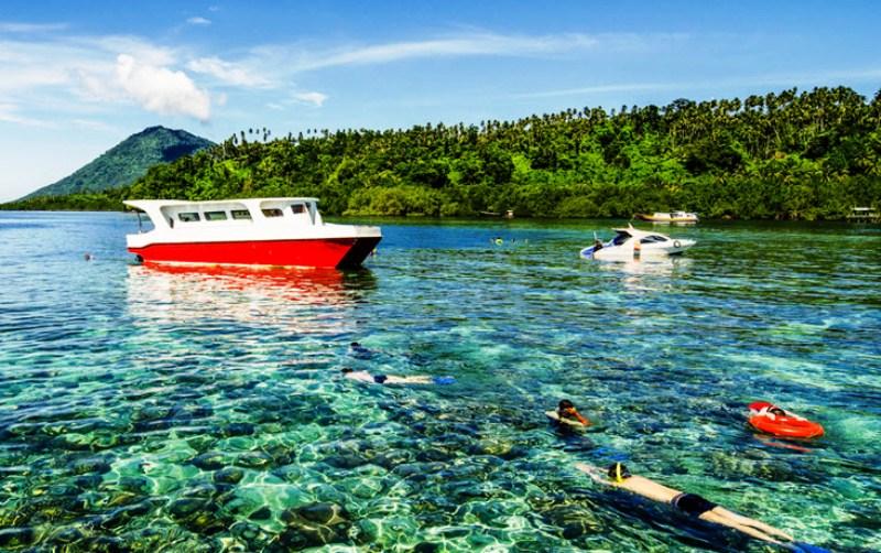 Minahasa Tenggara Menaruh Perhatian Dunia Pariwisata Portal Berita Taman Laut