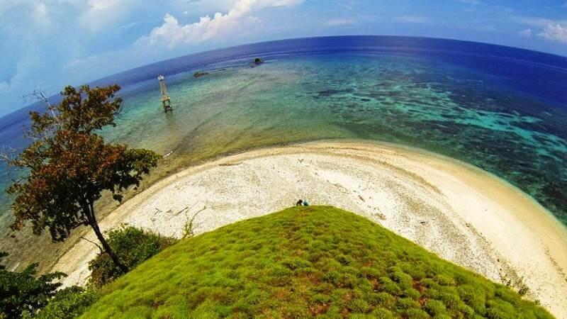 Pulau Baling Tumbak Madani Desa Masuk Wilayah Kecamatan Pusomaen Kabupaten