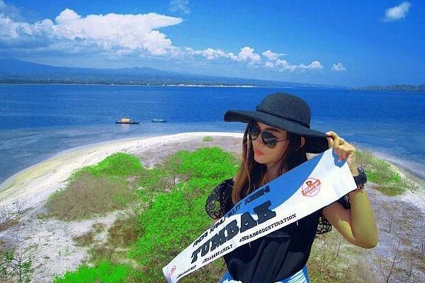Pulau Baling Tumbak Panorama Menakjubkan Gallery Taman Laut Kab Minahasa