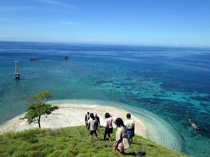 Pulau Tumbak Minahasa Tenggara Taman Laut Kab