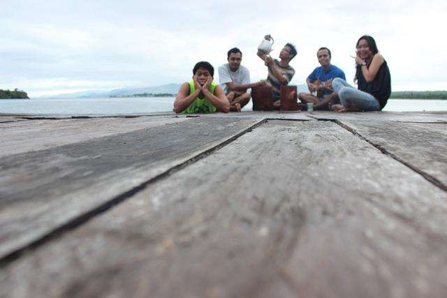 Sensasi Nginap Semalam Cottage Tengah Laut P Tumbak Baling2 Perjalanan