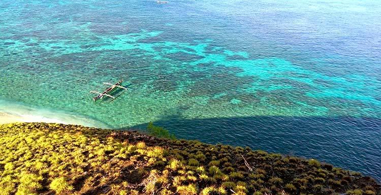 Taman Laut Tumbak Kembang Wisata Kab Minahasa Tenggara