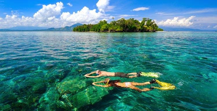 Tempat Wisata Minahasa Tenggara Kunjungi Portal Taman Laut Tumbak Kab